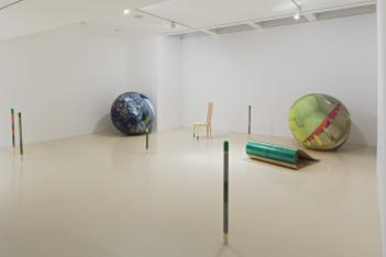 Balls of The Law - Installation View